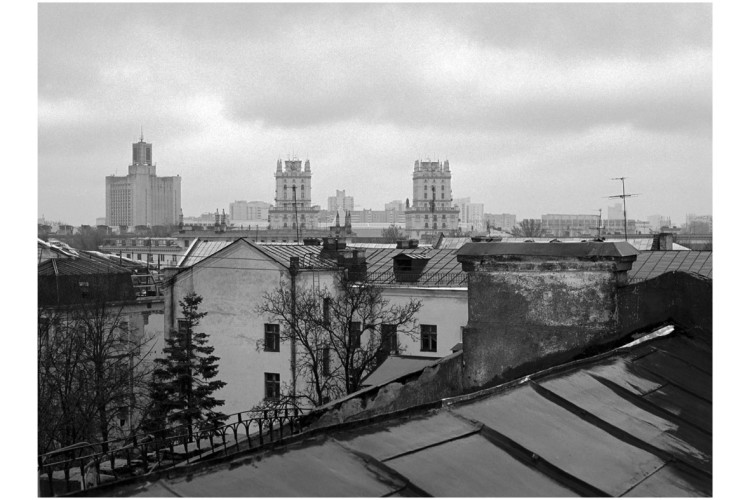 Артур Клінаў, «Вежы ў дождж» \ З сэрыі «Горад Сонца»