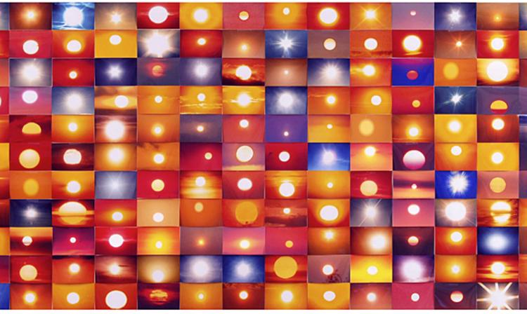 Фрагмент проекта «Солнца с Flickr», Пенелопа Амбрико