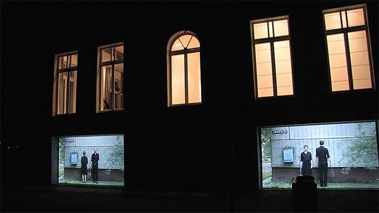 Jura Shust. Echoes of War, audio-video installation, 2014. https://vimeo.com/116698147