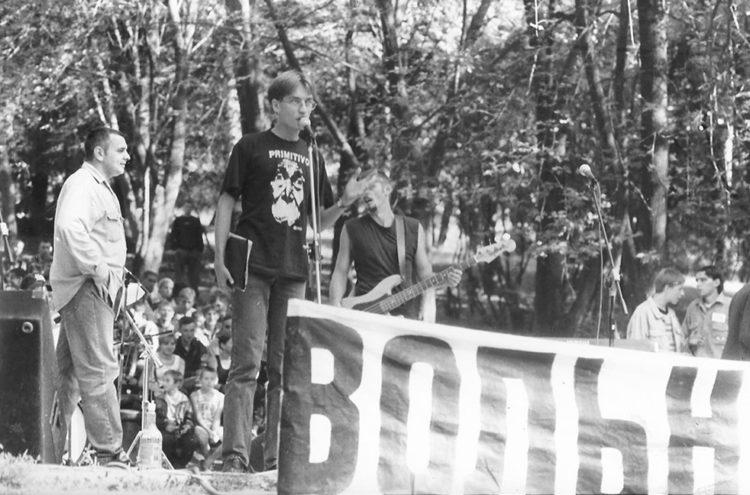 Volnyja tancy festival (BMA), Maladzečna, 1999. Photo by Ingo Petz