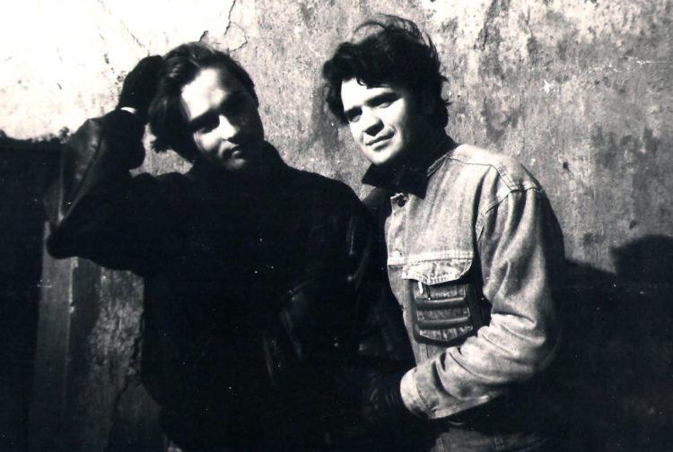 Вадзім Міліцын і Дзмітры Юшчанка (Autism) /1995. З архіву В. Міліцына