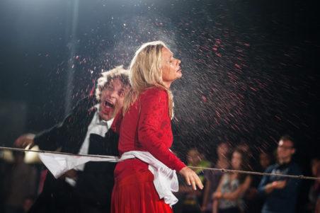 Виступ Театру «Biuro Podrozy» (Польша) звиставою «Carmen Funebre»